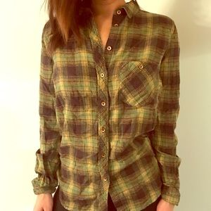 Long sleeve flannel. Urban Outfitters